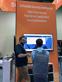 Netsurion Demo at BlackHat