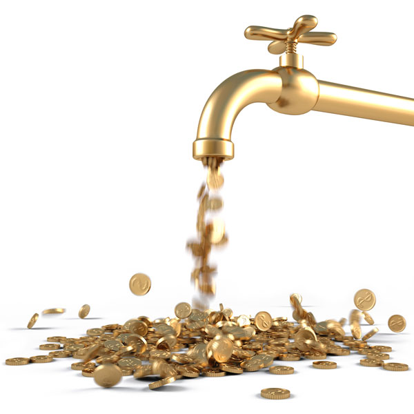Partner Promo faucet pouring coin image